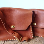 Ginger and Brown satchels