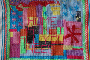 Sally Evans tapestry