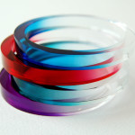 Sarah Packington dip dyed bangles