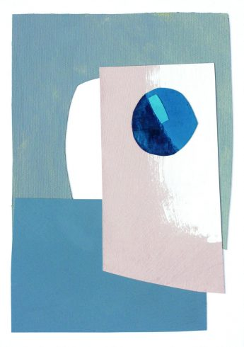 Lizzie Hillier Abstract Collage 2