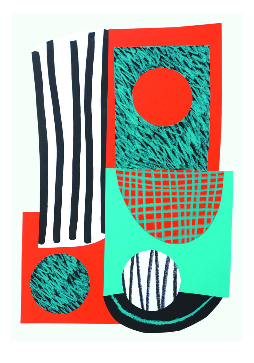 Lizzie Hillier Abstract print 1
