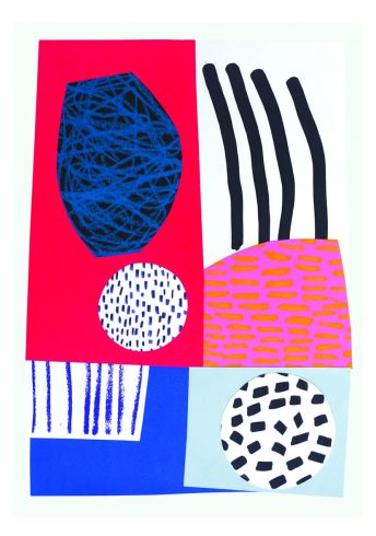 Lizzie Hillier Abstract print 2